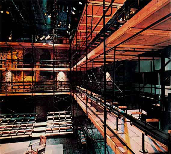 Peter Wexler - Pittsburgh Public Theatre 1973 - conception and design of theatre space