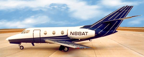 Peter Wexler - Design Exterior graphics and interior, The Taubman Company - corporate Aircraft