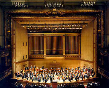 Peter Wexler -  Symphony Hall Interior restoration and systems update, Boston - 1999